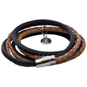 Armband Strandgut Schwarz