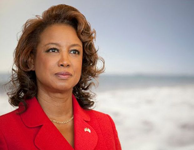 Trinidadian-born and Republican Jennifer Carroll is the former Florida Lt. Governor. She was the first black and first female elected to this office in the state's history. She formerly served in the Florida House of Representatives.