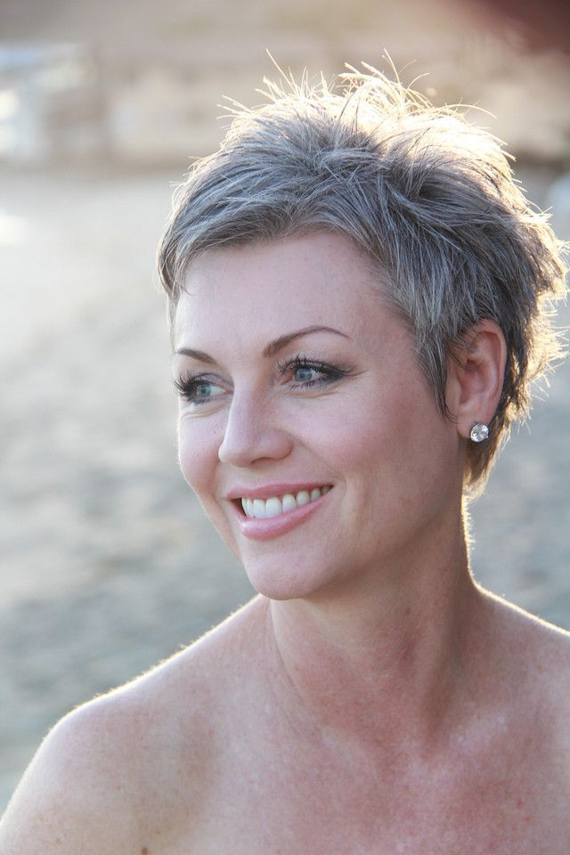 short grey haircuts ideas