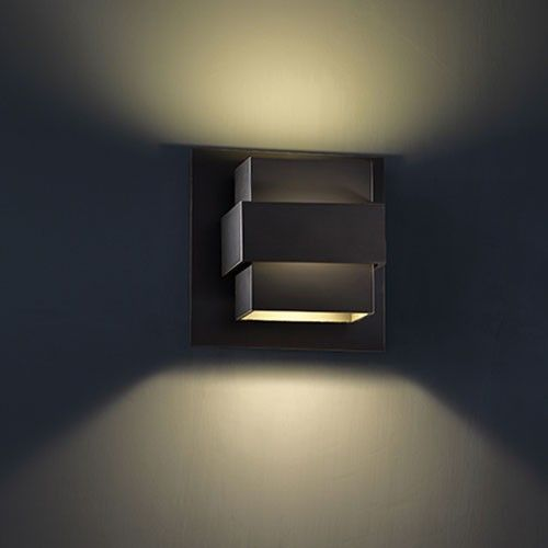 Pandora 7 Inch LED Outdoor Wall Light
