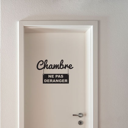 14 best stickers pour porte images on pinterest html. Black Bedroom Furniture Sets. Home Design Ideas