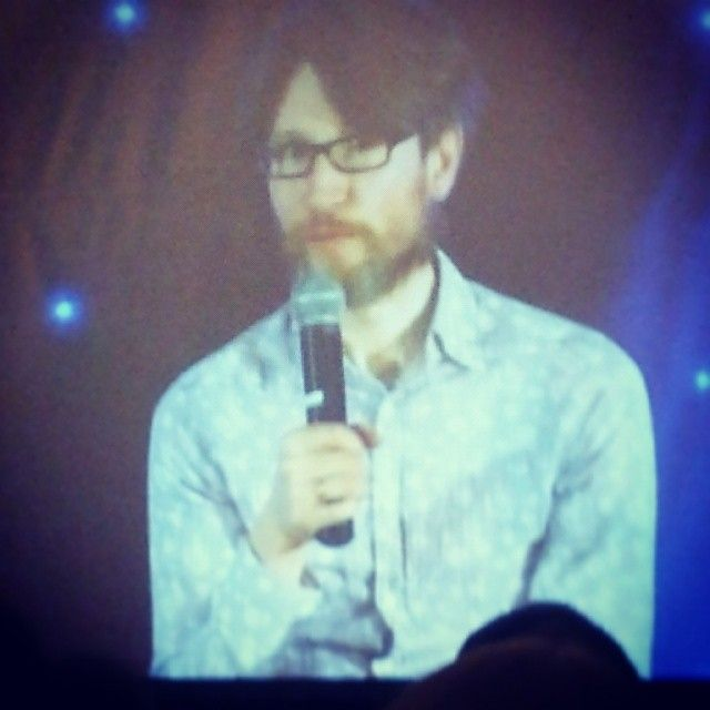 Jonathan Aris (Anderson) totally killing it on stage #sfelementary