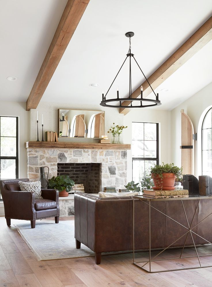 10 Best Living Rooms By Joanna Gaines   Modern farmhouse ...