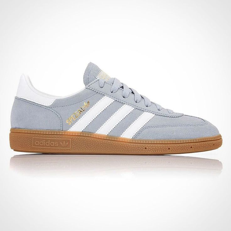 We've had restock on one of our favourites  from this season: the light steel grey colourway of the 'Handball Spezial' from @adidasoriginals. In store and online now 65.  #adidas #adidasoriginals #spezial #special #handballspezial #handball #3stripes #threestripes #3stripegoodness #sneakers #trainers #casuals #restock #philipbrownemenswear