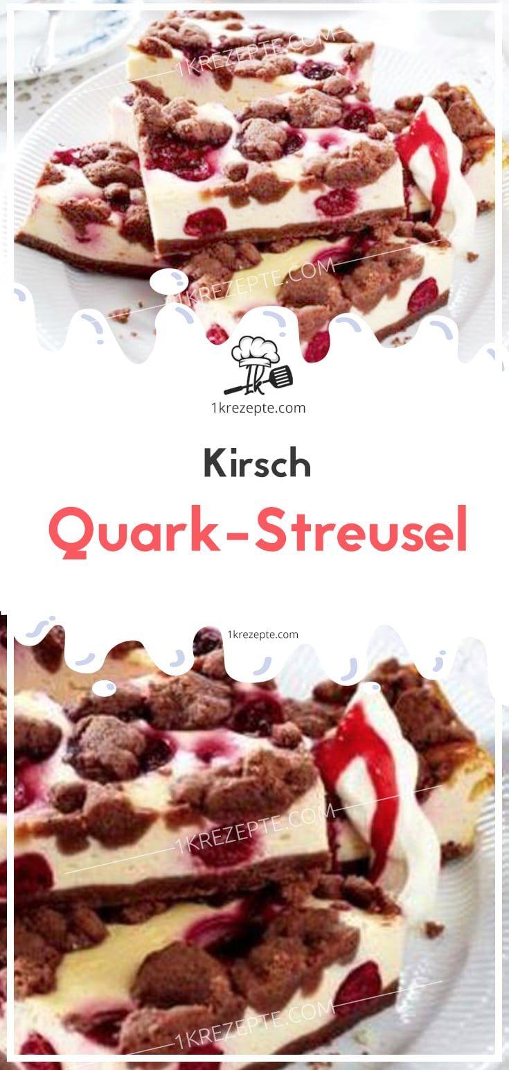 Kirsch-Quark-Streusel