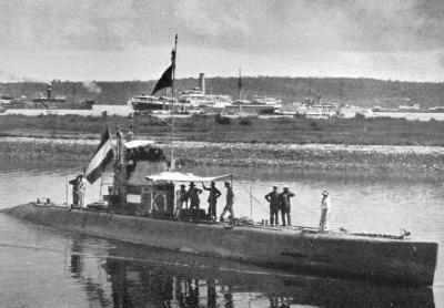 K I arrives in Soerabaja, 1916