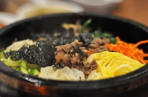 ... Korean Cuisine on Pinterest | Dolsot bibimbap, Tofu and Korean fried