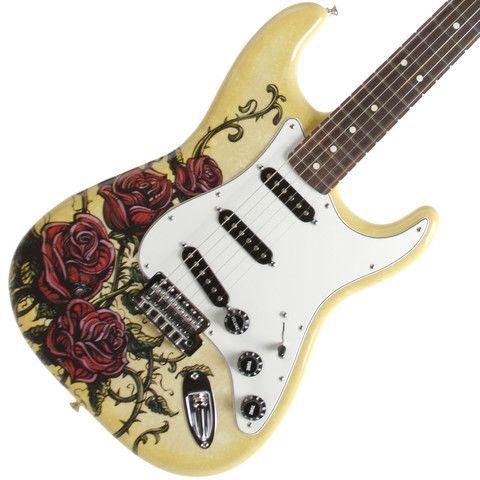 Fender Lozeau Rose Stratocaster | Available at Garrett Park Guitars | www.gpguitars.com