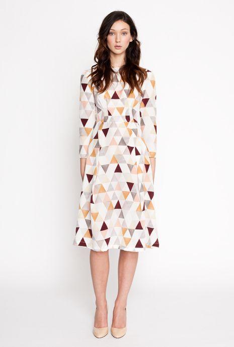 geometric dressGeometric Prints, Mom Style, Dresses Style, Secret Squirrels Art, Pinterest Crushes, Triangles Dresses, The Dresses, Style Fashion, Quilt Pattern
