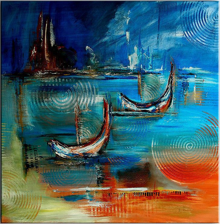 burgstallers bilder handgemalt original acryl gem lde painting abstrakt venezia http www. Black Bedroom Furniture Sets. Home Design Ideas