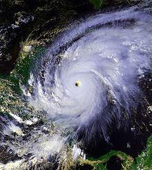El Salvador - hurricane Mitch 1998  I remember watching the rain for three days :) good days lol