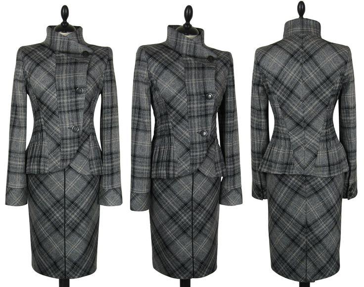 Next wool tweed suit