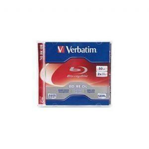 BD-RE DL 50GB 2x 1 pk JC by Verbatim. $28.69. BD-RE DL 50GB 2x 1 pk Jewel Case