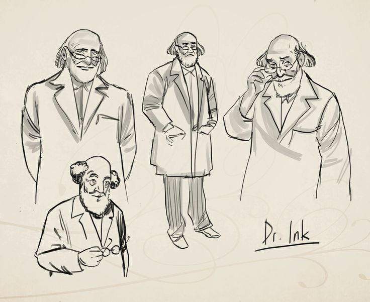 Dr. Ambrose Ink himself! Character concept art from Clockwork Tales: Of Glass and Ink #steampunk #adventure #game www.artifexmundi.com/page/clockwork/ www.facebook.com/ArtifexMundi.ClockworkTales