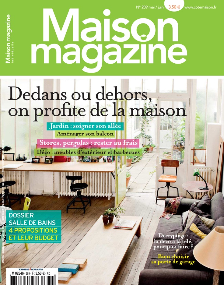 maison magazine may june 2013 couvertures par pinterest. Black Bedroom Furniture Sets. Home Design Ideas