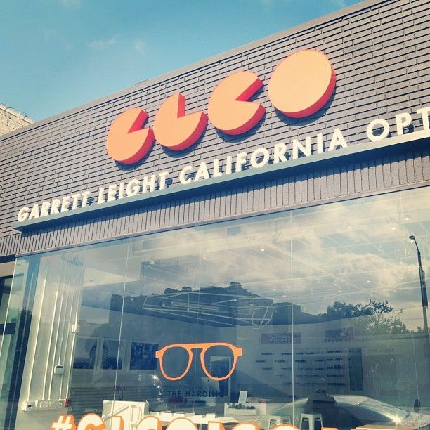 We checked out the new @Garrett Murphy Leight California Optical store on #labrea when we were in LA. It is reeeally nice, amazing. We hope to be stocked in there one day... #aspire #wish #glco #losangeles #california @akinneycourt #eyewear #eyeglasses #glasses #optical #sunglass #sunglasses #summer