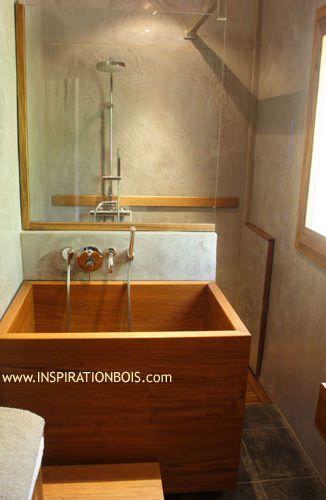 17 best images about houten baden on pinterest japanese bath soaking tubs and teak. Black Bedroom Furniture Sets. Home Design Ideas
