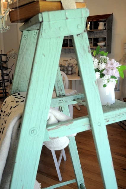 12 Best Images About Painted Ladders On Pinterest