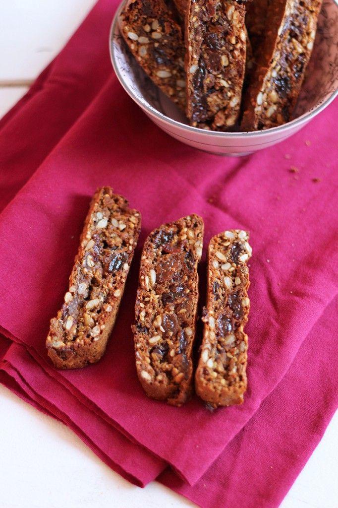 fruitcracker met roggemeel