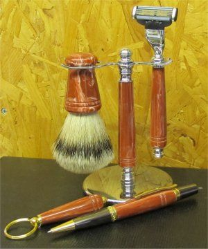 Hand Made Shaving Accessories by Rodney Neep