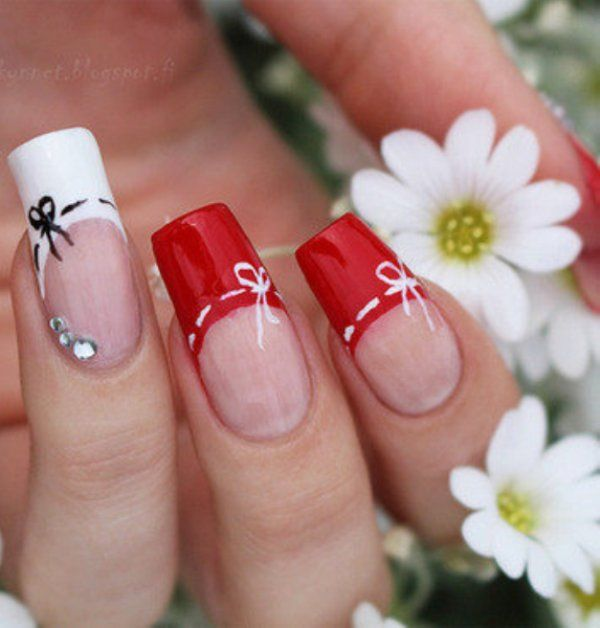 223 best myFav RED NAILS images on Pinterest | Make up looks, Red ...