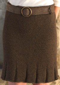 Flirty Skirty Knit detail *XOX Thanks for Free Pattern!