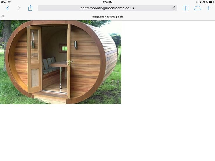 garden shed with a difference