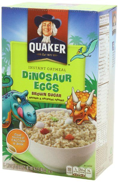 Dinosaur eggs oatmeal. YES. OMG I just had my nana buy me some and im 19 hahaha