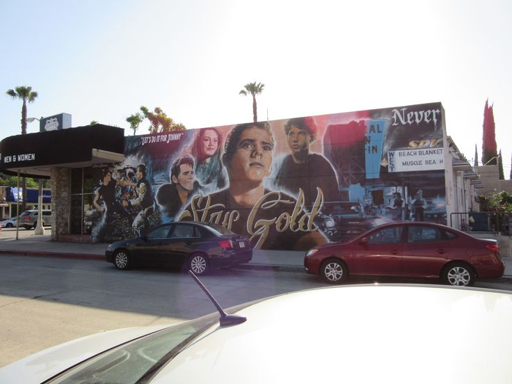 My pic of The Outsiders mural at Floyd's Barbershop in Sherman Oaks, CA. 2015