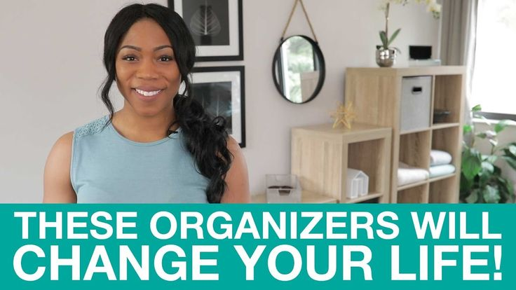 Transform Your Home with Stackable Organizers! | TidyLiving.com    Use them as side tables, coffee tables, an entertainment centre, or even a closet organizer-- these stackable cubby organizers are good for ANYTHING!