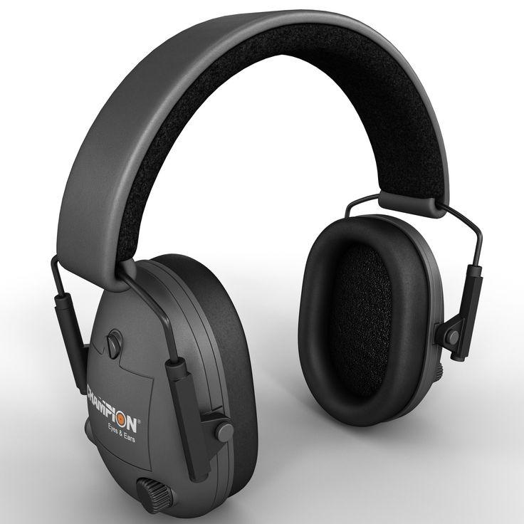 3D Electronic Ear Muffs Model - 3D Model