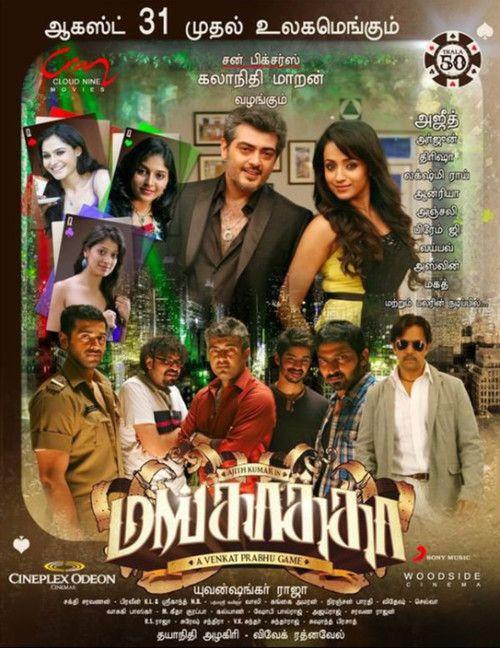Mankatha (2011) Full Movie Streaming HD