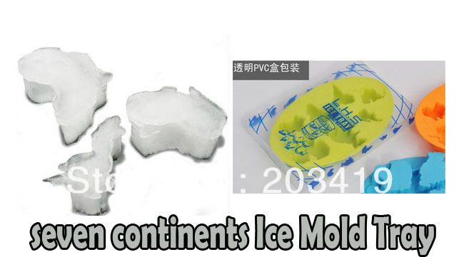 Find More Ice Cream Tubs Information about Creative seven continents Ice Mold Mould Cube Tray for cake chocolate icecream party wedding drink   CN post,High Quality tray cake,China mold for Suppliers, Cheap tray rings from China RUI International Trade Corporation on Aliexpress.com
