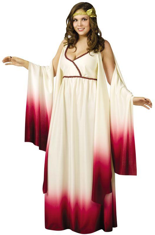 Venus Goddess of Love Plus Size Costume for Halloween - Pure Costumes