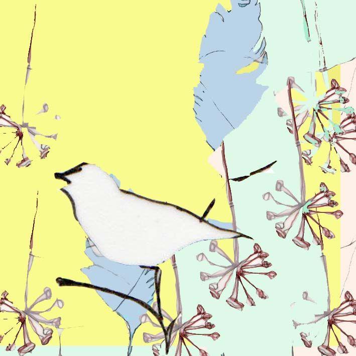 #illustration #print #bird #collage #pastel #pastels #design #designer #illustrator #handdrawn #drawing