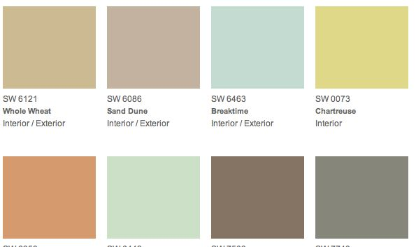 Sherwin Williams Lime Green Color Paint Colors Sherwin