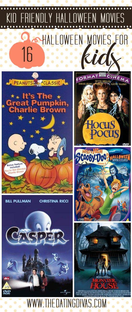 Kid-friendly Halloween Movie Marathon