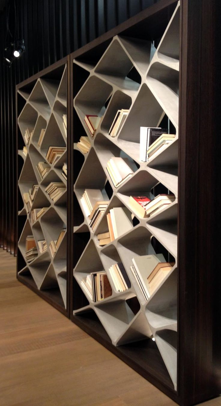 Concrete? #Bookself #imm Cologne #2014  interior design, design projects…