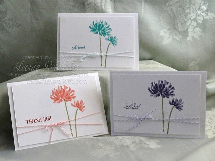 Creative Endeavors: photo Friday - Stampin' UP! 2-step sets
