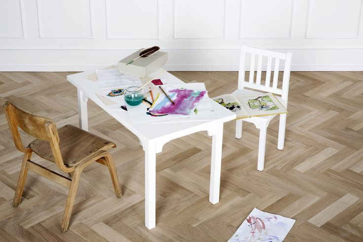 Kids table and chair from Oliver Furniture.   www.oliverfurniture.com