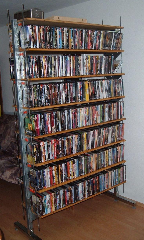 best 25 dvd storage shelves ideas on pinterest diy dvd shelves dvd movie storage and cd dvd. Black Bedroom Furniture Sets. Home Design Ideas
