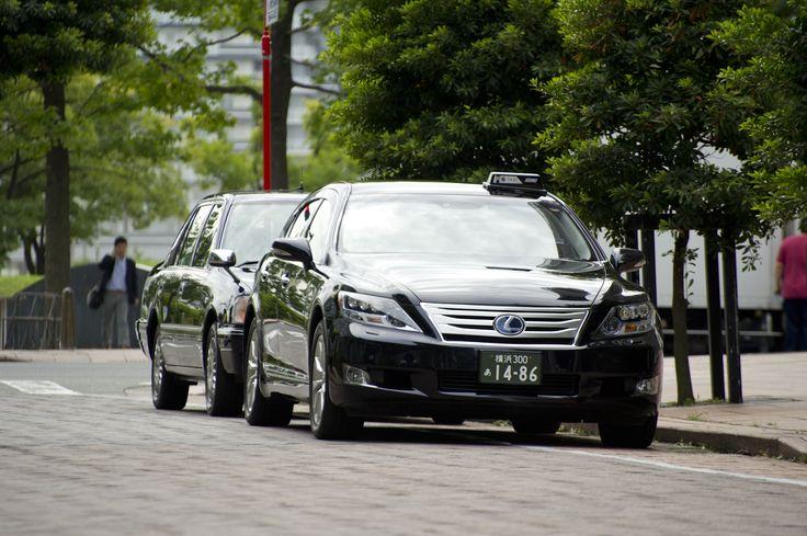 タクシー 縦列