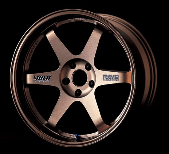 Rose Gold Volk Racing Wheels TE37