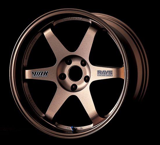 Rose Gold Volk Racing Wheels TE37