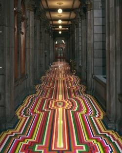 Beautiful Portals: Archive  Floor is unbelievable...