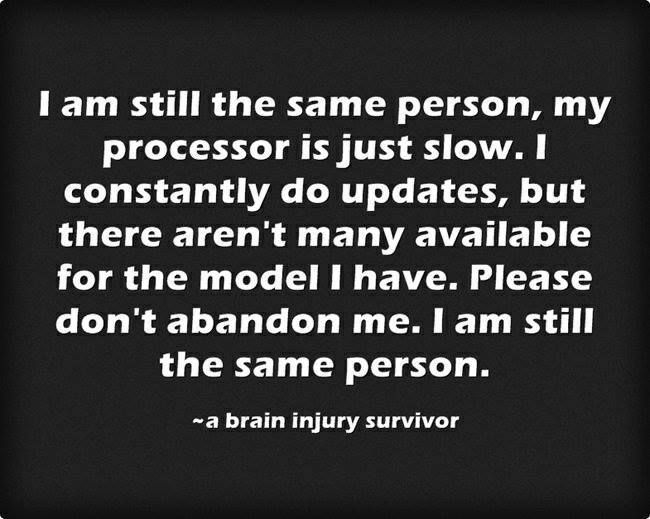 Concussion Quotes Entrancing 43 Best Brain Injury Quotes Images On Pinterest  Brain Injury . Inspiration Design