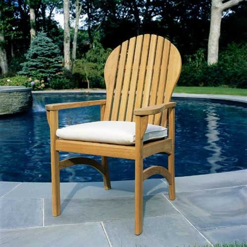 Hampton Chair In Pool Area with Table Crafty Ideas