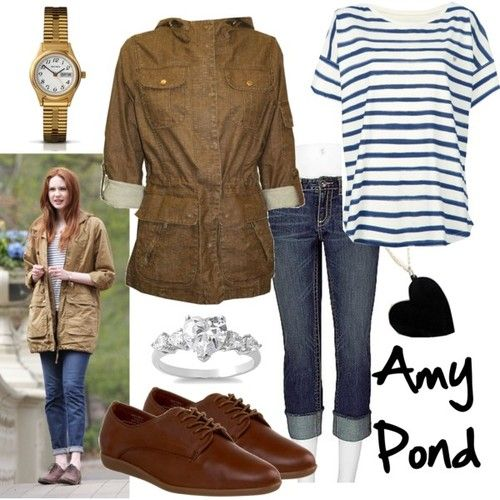 Character: Amy Pond  Fandom: Doctor Who  Episode: Angels Take Manhattan  Buy it here!
