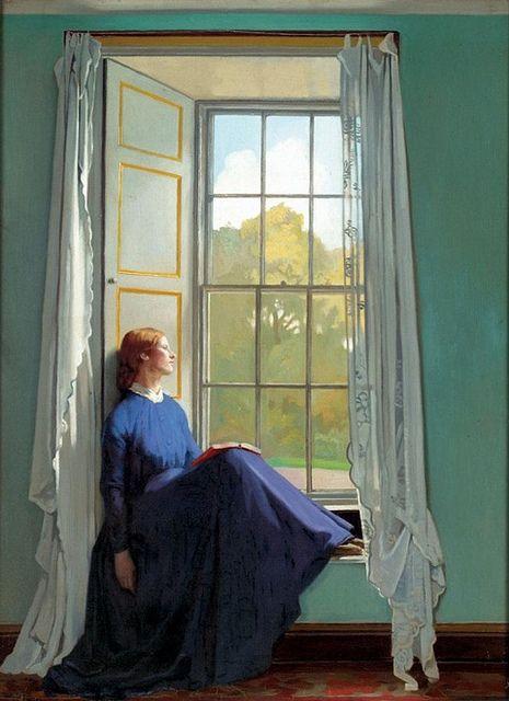 The Window Seat - William Orpen