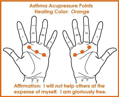 Color Acupressure for Asthma balancedwomensblog.com